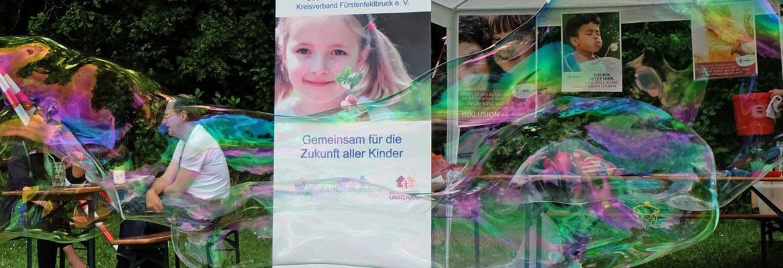 Infostand auf dem Stadtfest in Puchheim